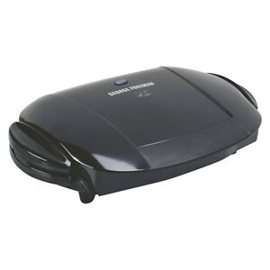 George foreman 5 serving removable plate grill - George foreman replacement grill plates ...