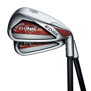 New Callaway Diablo Edge Iron Set 4-PW Stiff Flex Graphite RH