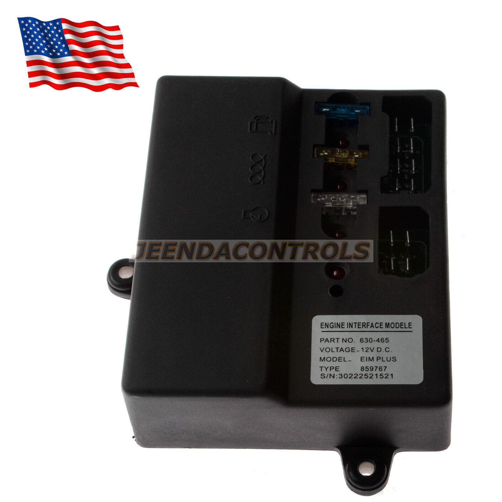 New Interface Module EIM 630-088 Replace EIM 630-465 FG Wilson Parts Engine 12V