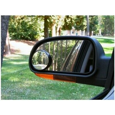 Convex BLIND SPOT MIRROR Towing Reversing Driving SELF ADHESIVE Car Van Bikes x2