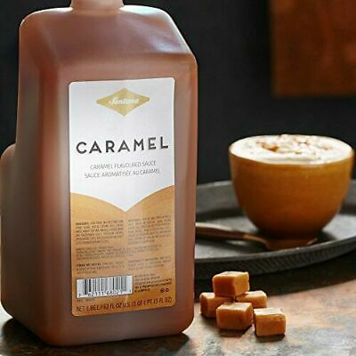 Fontana By Starbucks Caramel Sauce Best By 05/2020 63 Fl Oz. New With Pump!