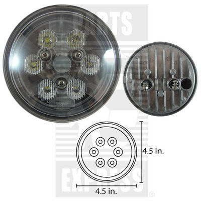 Tractor Cab Led Light Part Wn-re561116 9-32v 18w Cree Round Trapezoid 1050 Lumen