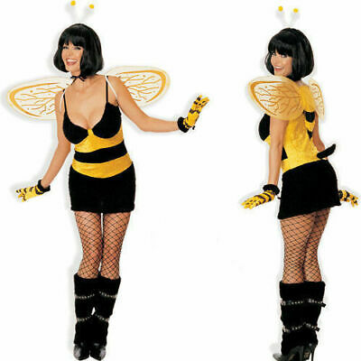 NEW Shirley of Hollywood 7388 USA 5 pc Buzzin Bee Costume Cosplay S/M, M/L (Hollywood Usa Kostüme)