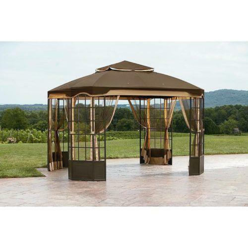 gazebo kits ebay. Black Bedroom Furniture Sets. Home Design Ideas