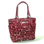 Coach Bag Burgundy