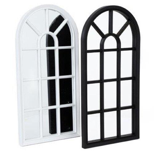 Home Decoration - WINDOW STYLE MIRROR LIVING ROOM DECOR HALLWAY HOME PANEL WALL GLASS 70CM GARDEN