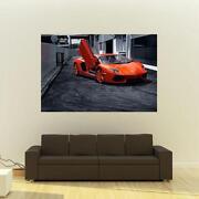 Lamborghini Aventador Poster