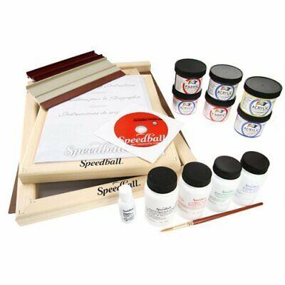 Speedball Intermediate Deluxe Screen Printing Kit Deluxe Screen Printing Kit