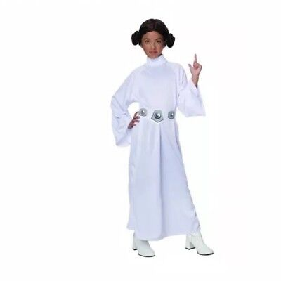 Child Princess Leia Costume NWT. Rubies Size Medium (8-10) For 5-7 Years Old - Costumes For 10 Year Old Girls