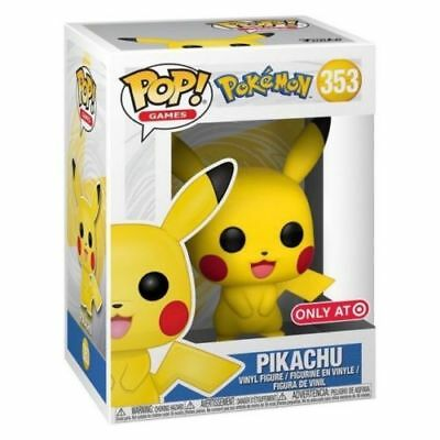 Pikachu Funko Pop #353 Pokemon Target - New