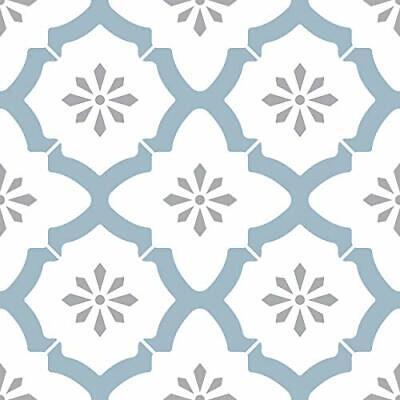 Alfama Peel & Stick Floor Tile Water Resistant and Washable Vinyl Flooring