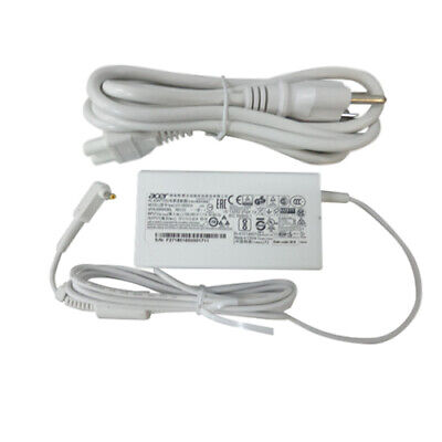 New Genuine Acer Aspire S7 S7-191 S7-391 Ultrabook White Ac Adapter Charger 65W