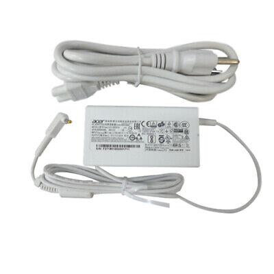 New Genuine Acer Aspire S7 S7-191 S7-391 Ultrabook White Ac Adapter Charger 65W, usado comprar usado  Enviando para Brazil