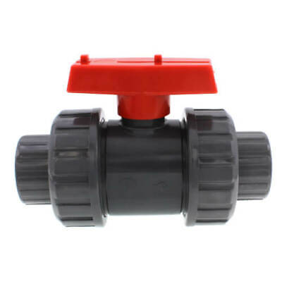 1 Pvc True Union Ball Valve W Slip Solvent Fittings Included