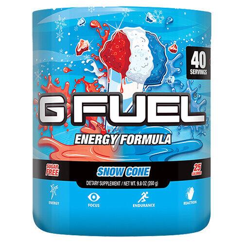 Gamma Labs G Fuel Snow Cone GFuel 40 Servings