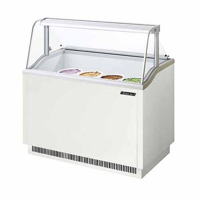 Turbo Air Tidc-47w 47-inch Ice Cream Dipping Cabinet White