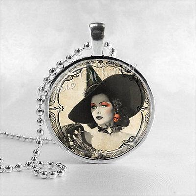 Sexy Jewelry Halloween Jewelry - Witch Necklace, Vintage Halloween Jewelry, Sexy Witch, Vintage Witch Necklace
