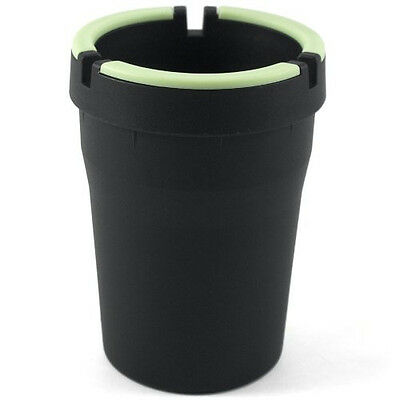 Glow in the Dark Cup-Style Self-Extinguishing Cigarette Ashtray  - Glow In The Dark Cup