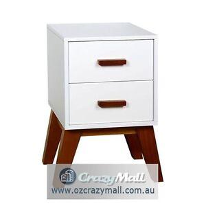 Scandinavian Bedside Table Unit Cabinet Melbourne CBD Melbourne City Preview
