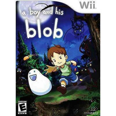 A Boy And His Blob - NINTENDO Wii - GOOD