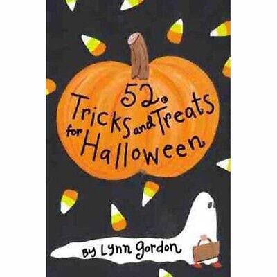 52 Tricks & Treats for Halloween by Lynn Gordon    (Cards) - Tricks For Halloween Games