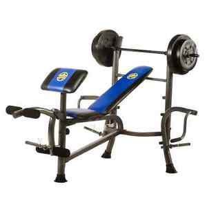 Workout Bench GREAT SHAPE with No Weights CHEAP!!!