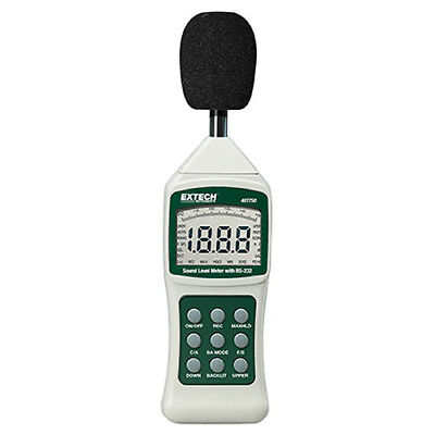 Extech 407750 Sound Level Meter Digital Wrs232