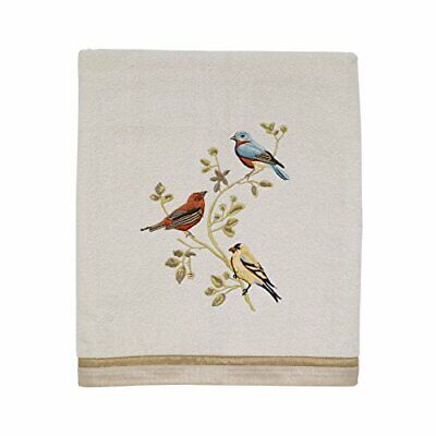 "Avanti Bath Towels, Gilded Birds 25"" x 50"" Bath Towel"
