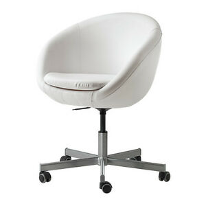 IKEA SKRUVSTA Swivel chair - White