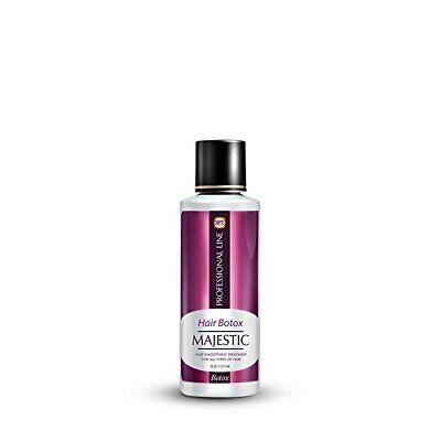 Majestic Hair Botox Repairs the Damaged or Broken Hair Fibers & Adds Shine 4 Oz