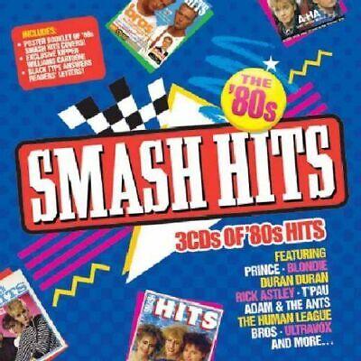 Smash Hits : The 80's (3CD Fatbox) Prince Adam Ant Bros Ultravox T'Pau Blondie