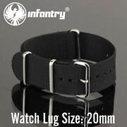 20mm Stainless Steel Watch Strap