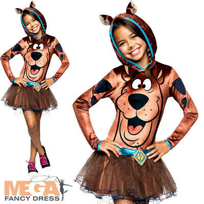 Scooby Doo Girls Fancy Dress Girls Cartoon Character Kids Costume Book Outfit - Cartoon Character Costumes For Girls