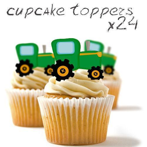 Edible Tractor Cake Toppers Ebay