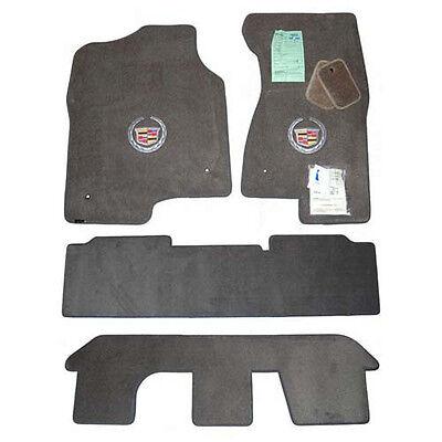 2003-2006 Cadillac Escalade ESV Floor Mats - Grey - Bench Seats - 32OZ 2PLY 4PC