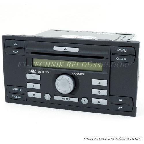 ford focus radio 6000 cd ebay. Black Bedroom Furniture Sets. Home Design Ideas
