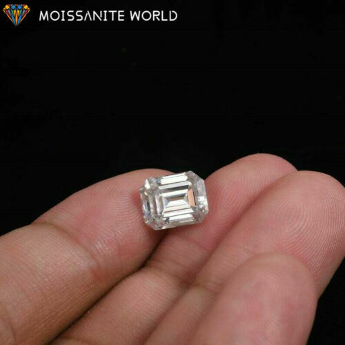 Loose Moissanite White D Color VVS with certificate*3