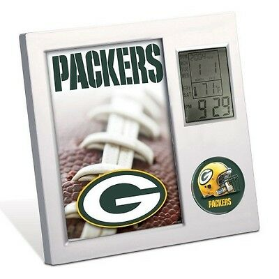 GREEN BAY PACKERS ~ (1) Official NFL Team Desk Alarm Clock ~ New!