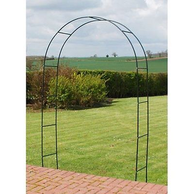 Metal Garden Arch Heavy Duty Strong Tubular Rose Climbing Plants Archway New