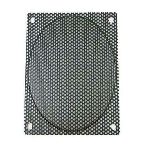 140mm Black Steel Computer Case Fan Mesh Grill / Guard / Filter - Small Hole