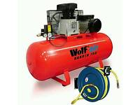 Air wolf compressor for sale new never used