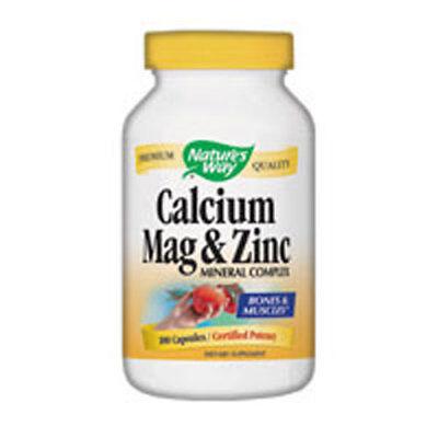 250 Kapseln Natures Way (Calcium Magnesium & Zink 250 Kapseln von Nature's Way)