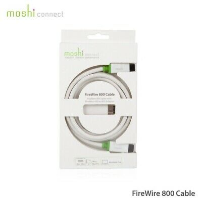 Moshi FireWire 800 cable (Avec Adaptateur FireWire 400)