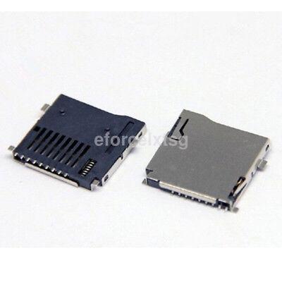 10x Tf Memory Card Socket Modules Micro Sd Slot Base Arduino Cellphone Smd Us