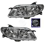 2002 Mazda Protege Headlights