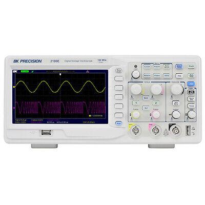 Bk Precision 2190e 100 Mhz 2-ch 1 Gsas Digital Storage Oscilloscope