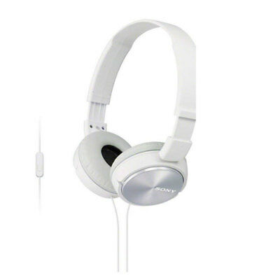 Sony ZX Series MDR-ZX310AP Headband Stereo Headset ZX310 Headphone White phone for sale  Shipping to India
