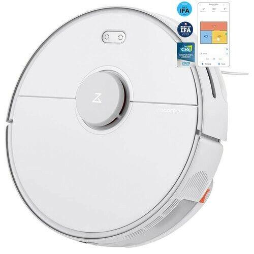 Roborock S5 Max Robot Vacuum Cleaner Mop White UK Plug, Sealed, Brand New