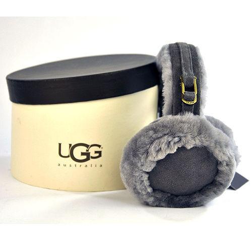 "UGG Women's  Double ""U"" Logo Sheepskin Earmuff ~ 4 Colors ~ Brand New with Tags!"