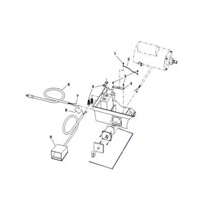 Ridgid 20133 Switch Assembly For 1822-i Pipe And Bolt Threading Machine